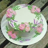 Pretty cake @ Wilton