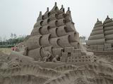 Sandcastle - ship sailing