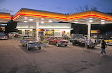 Cruise Night Shell Station on Woodward Where Were You in '62
