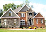 Red brick and stone house