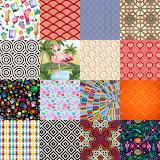 Repetitive Design Collage