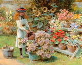 Pair of Watercolors (Detail), William Stephen Coleman