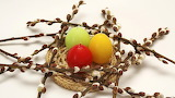 Easter Egg Candle Nest