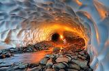 Inside-glacier-cave-in-alaska