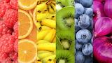 Fruta por colores