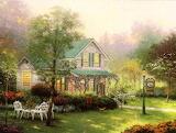 The Village Inn by Thomas Kinkade
