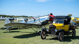 Ryan PT-22 with Model T Fuel Truck