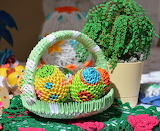 origami eggs