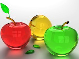 ^ Glass fruit
