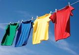 Rainbow clothesline