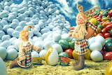 ☺♥ Funny Easter bunnies...☺
