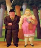 A Couple - Fernando Botero (1999)