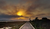 Places - Morro Bay - Marina Trail - California Fires