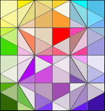 Patchwork Colour Window CP