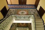 Praha, Palais Imperial, stairs, CZ