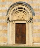Door to Visoki Dečani Monastery