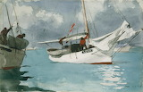 Fishing Boats, Key West by Winslow Homer 1903