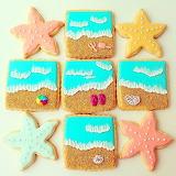 Beach lover's cookies @ Askanam
