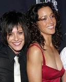 Jennifer Beals and Kate Moening