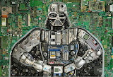 Darth Vader Electronic Parts Artwork