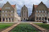 Grundtvig Church Copenhagen Denmark