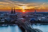 Hohenzollern Bridge, Cologne, Germany