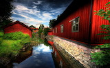 Red village