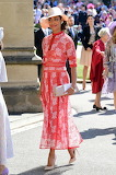 Gina Torres at the Royal Wedding
