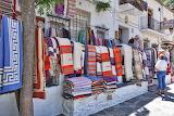 Shop, exhibition, blankets, carpets, sale