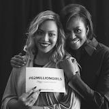 Beyoncé and Michelle Obama