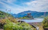 Eilean Donan Castle Scotland - Photo from Piqsels id-jxjus