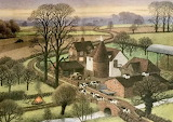 Beautiful farm - Ronald Lampitt