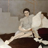 Louis le Brocquy, Girl in Grey, 1939