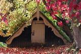 Autumn at Scotney Castle Boathouse