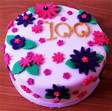 #100 Year Birthday Cake