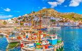 Fishing boat fleet-Greece-Aegean