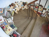 Stair with books