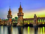 ☺ Oberbaum Bridge at dawn...