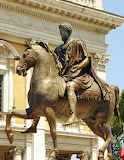 Statue-horse-man-Rome-