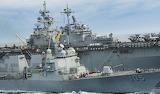 USS Dewey alongside USS Wasp