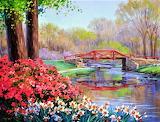 #A Kiss of Spring by Mikki Senkarik