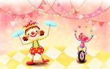 #Clown and Juggling Bear