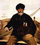 Pere Altazin- Chief Lifeguard of Honfleur - JF Raffaelli 188