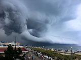 Creepy cloud formation over Rehobeth Beach