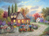 Countryside Art by Dennis Patrick Lewan...