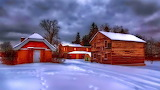 houses-village-winter
