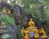 Prayer in the Garden at Luang Prabang