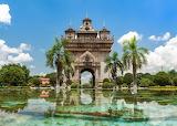Patuxai, Vientianne, Laos