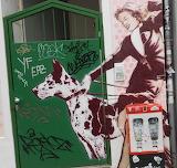 Wall-Art mit Dogge
