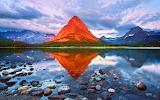 Orange Mountain, Glacier National Park